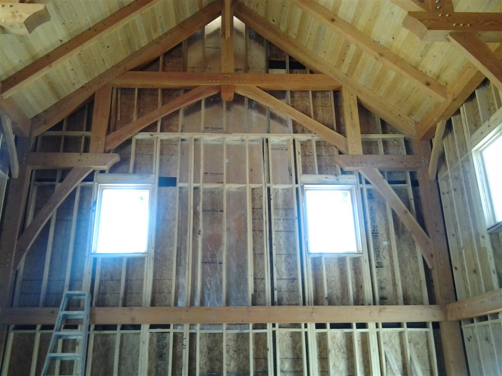 Texas Timber Frames - Vic\'s Drywall